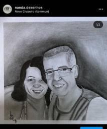 desenho /quadro/ retrato