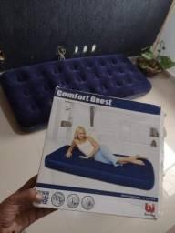 Título do anúncio: Colchão Inflável Veludo Comfort Quest