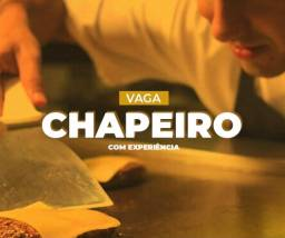 Título do anúncio: Vagas Chapeiro - Hamburgueria Delivery