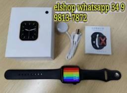 Smartwatch Iwo W46 Relógio Watchface Personalizável 44 Mm