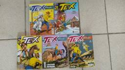 Lote Tex Coleção numeros 393 394 403 404 414