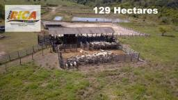 Fazenda a venda, com 129 hectares, no distrito de Triunfo/RO