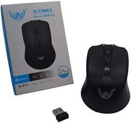 Mouse Sem Fio 4 Botões Altomex