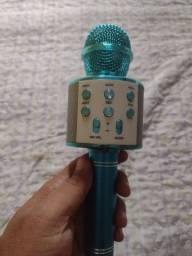 Microfone Karaokê com Efeito de Eco na voz