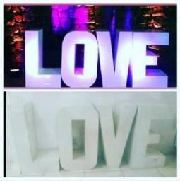 Vendo nome LOVE para eventos