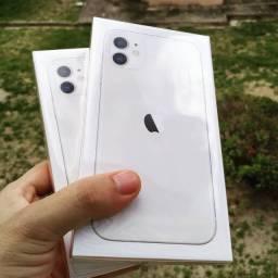 iPhone 11 Branco - (Desconto à vista)