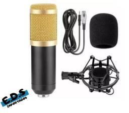 Microfone Condensador BM800 Ecooda Para Estúdio