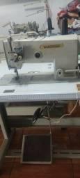 Máquina pespontadeira duas agulhas