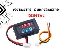Mini Voltímetro Amperímetro Digital