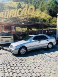 Título do anúncio: Mercedes C180 Classic C/teto novíssima 1999 top