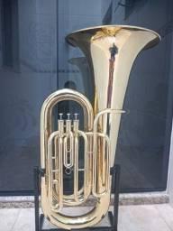 Título do anúncio: Tuba 4/4 Weril Sib -Impecavel - Aceito trocas - Parcelo 12x cartao