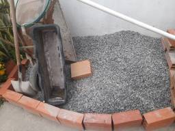 Título do anúncio: Brita (gravilhao) areia arenoso