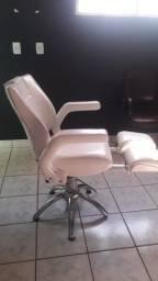 Cadeira para podologia corte e barba