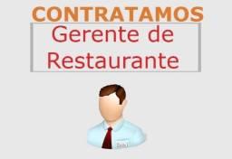 Título do anúncio: Gerente - Hamburgueria/Pizzaria Delivery