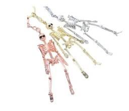 Título do anúncio: Chaveiro Corpo Humano Esqueleto Ossos Caveira Metal