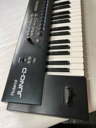 Título do anúncio: Teclado Sintetizador Roland Juno D