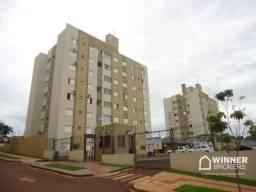 Apartamento com 2 dormitórios à venda, 46 m² por R$ 170.000 - Loteamento Sumaré - Maringá/