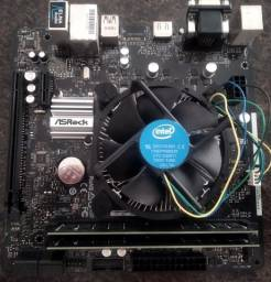 Kit Intel i3 9100F+Placa mãe+16GB de Memória Promoção!!!