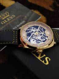 Relógio esqueleto automático Promoção