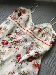 Vestido floral tamanho p -36
