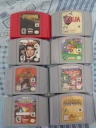 Lote de cartuchos de Nintendo 64