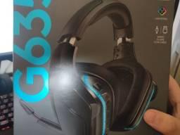 Título do anúncio: Headset Logitech 7.1 g635 rgb