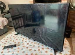Tv Samsung smart 40 polegadas. Com ldes queimados!