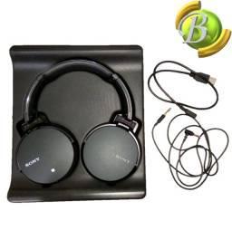 Fone de ouvido Sony Original MDR-XB950B1 Over EAR