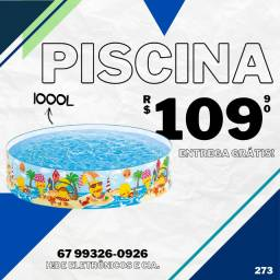 Piscina 1000L Intex (entrega grátis)