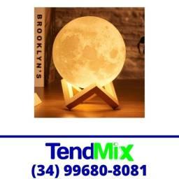 Título do anúncio: Luminária Lua Led 11cm Amarela