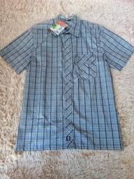 Camisa de botão Smolder na promoção