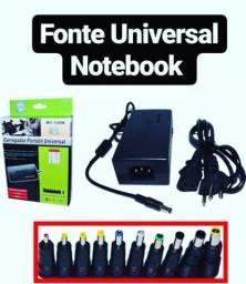 Carregador para notebook universal novos com garantia