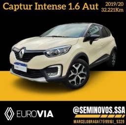 Título do anúncio: Captur 1.6 Intense 16v 2019/20 - Marcelo Braga