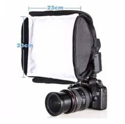 Softbox 23x23cm Universal Para Flash Dedicado - Para Fotografia
