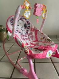 Cadeira de descanso infantil snoopy seminova