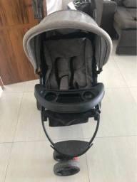 Carrinho de Bebê Baby Style Urban - Cinza