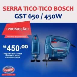 Serra Tico-tico Bosch Gst 650 / 450w ? Entrega grátis