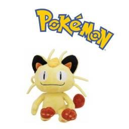 Pokemon Pelúcia Meowth 18cm