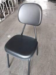 Cadeiras Secretaria Fixa Nova - Varias Cores - Espuma Injetada - Home Office