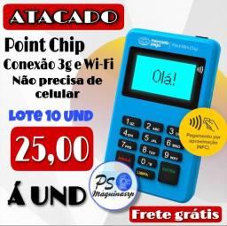Título do anúncio: Máquina de cartão ATACADO MERCADO PAGO!