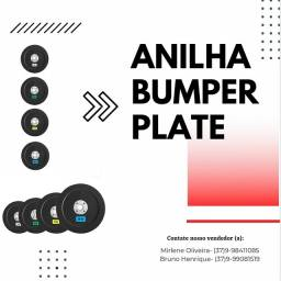 Anilha Bumper plate (Anilha crossfit) preço por kg