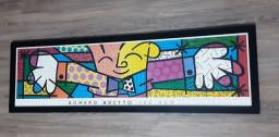 Quadro Decorativo Romero Brito Original Quebra Cabeça