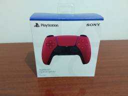 Controle Dualsense PS5 cosmic red - pronta entrega
