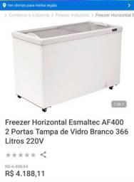 Freezer Horizontal Esmaltec AF 400