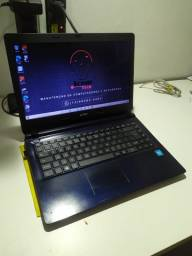 Notebook Lenovo Intel - ssd 120gb - 4gb memória - hd 1tb - 12x cartão