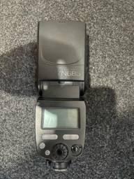 Título do anúncio: Flash YN 685 Canon com 2 rebatedores