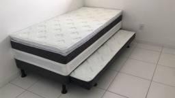 Título do anúncio: Cama Solteiro Box C/ Auxiliar Ouro - 799,00 (Design)