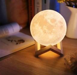 Título do anúncio: Luminária lua cheia abajur