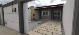 SI - Casa nova 2 quartos, 2 banheiros, varanda com churrasqueira, sala, coz, quintal