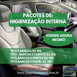 Promoção de limpeza de carro
